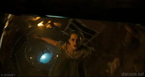 Mia Wasikowska in Alice in Wonderland by Tim Burton