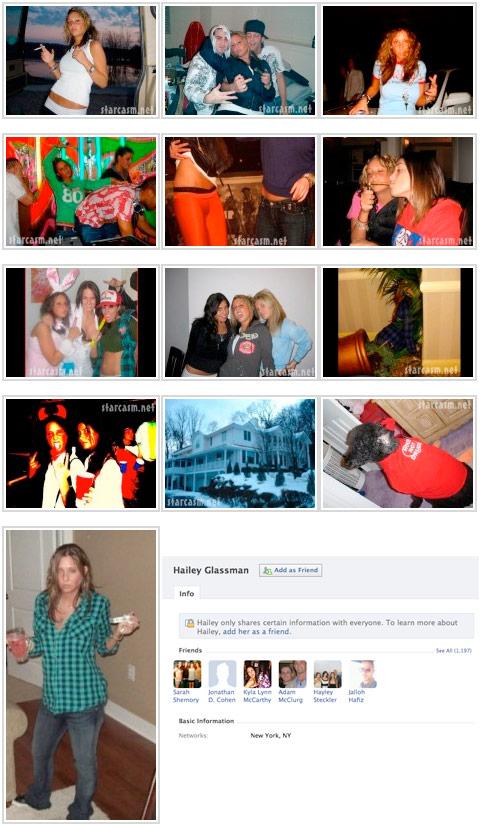 Hailey Glassman facebook photos