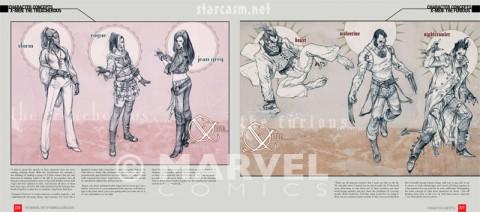 Marko Djurdjevic X-Men character concepts