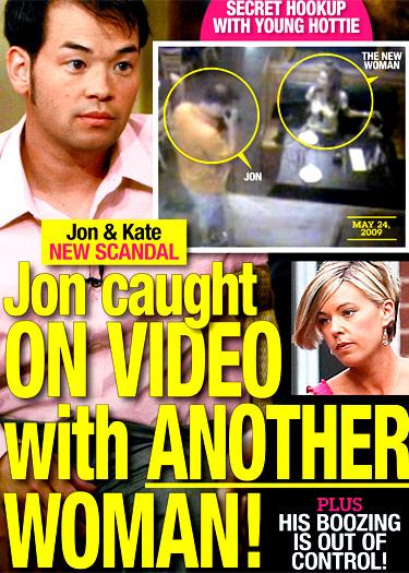 Jon Gosselin and Hailey Glassman caught on surveillance camera