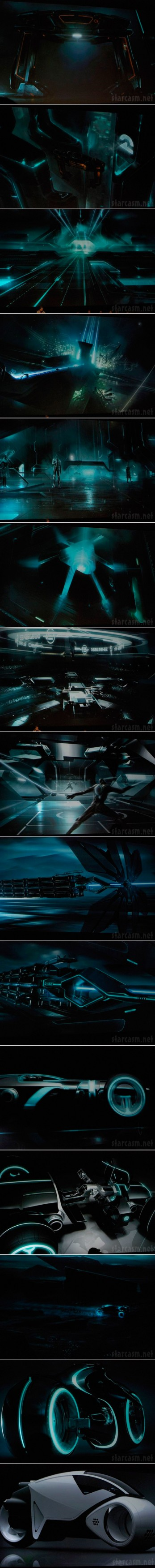 Tron Legacy production art revealed at the 2009 Comic-Con