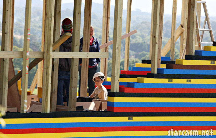PHOTOS James May's actual-size Lego house pictures! - starcasm net