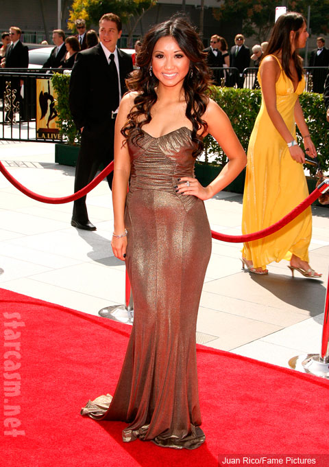 Brenda Song at the 60th Primetime Creative Arts Emmy Awards
