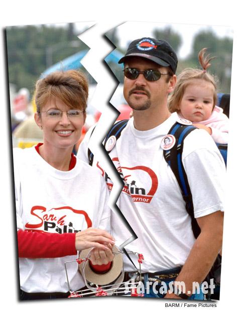Sarah Palin and Todd Palin headed for divorce?