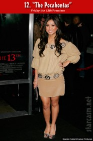 Brenda Song at the Friday the 13th premiere