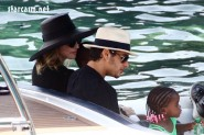 Madonna, Jesus Luz, and family in Italy