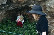 Madonna and statue in Italy