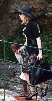 Madonna in Italy - 51st birthday