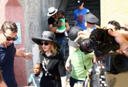 Madonna and family in Italy