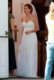 Jim and Pam from The Office get married John Krasinski Jenna Fischer