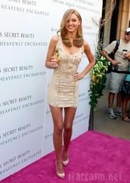 Miranda Kerr at the launch of the Victoria's Secret perfume Heavenly Enchanted