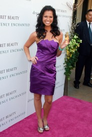 Melissa Rycroft at the launch of the Victoria's Secret perfume Heavenly Enchanted