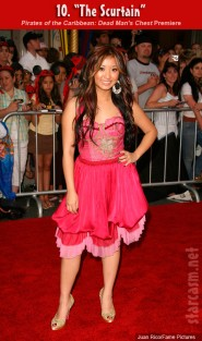 Brenda Song at The Pirates of the Caribbean Dead Man's Chest premiere