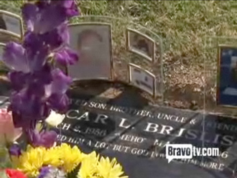 "Gravesite of Lisa Wu-Hartwell's brother Oscar ""Meho"" Brislis"