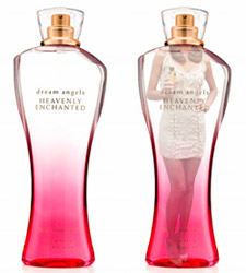 Miranda Kerr and Heavenly Enchanted the new perfume from Victoria's Secret