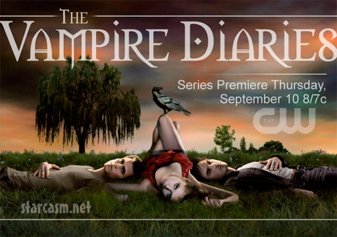 The Vampire Diaries will premiere September 10 on The CW