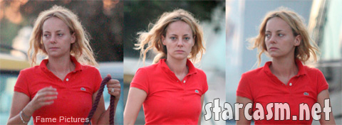 Bijou Phillips looks rough after the Mackenzie Phillips incest confession on Oprah