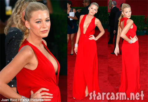Blake Lively gets a lot off her chest on the 2009 Primetime Emmy Awards red carpet!