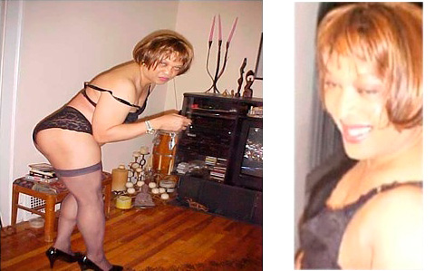 Alleged photo of East Cleveland mayor Eric Brewer dressed as a woman in lingerie