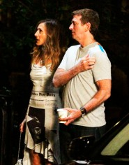 Sarah Jessica Parker and director Michael Patrick King on the set of Sex and the City 2