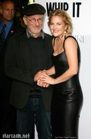 Drew Barrymore and Steven Spielberg attend the Whip It premiere held at The Grauman's Chinese Theatre in Hollywood