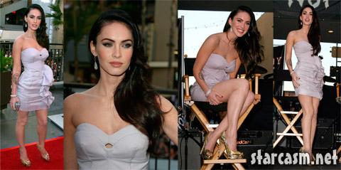 Megan Fox in Hollywood promoting her movie Jennifer's Body