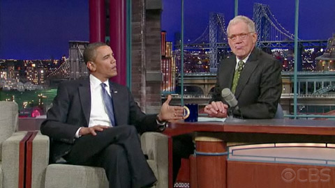 Obama reveals to Letterman that he was actually a black man before the election