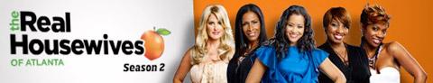 The Real Housewives of Atlanta season 2 logo banner