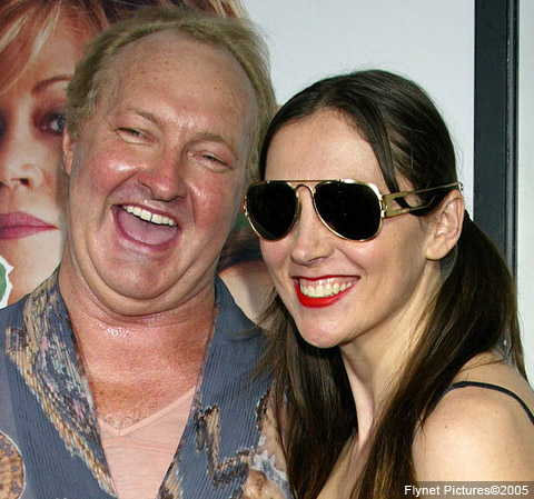 Randy Quaid and wife Evi Quaid at the premiere of 'Monster-In-Law'