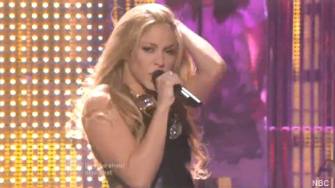 Shakira performs She Wolf on America's Got Talent