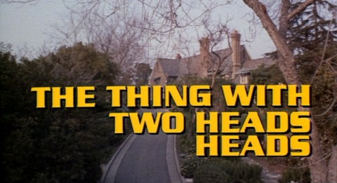 The Thing With Two Heads starring Ray Milland and Rosey Grier