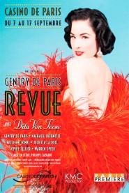 Poster for Gentry de Paris starring Dita Von Teese