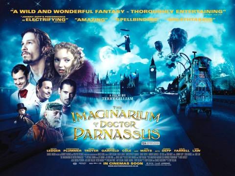 The Imaginarium of Dr. Parnassus movie poster