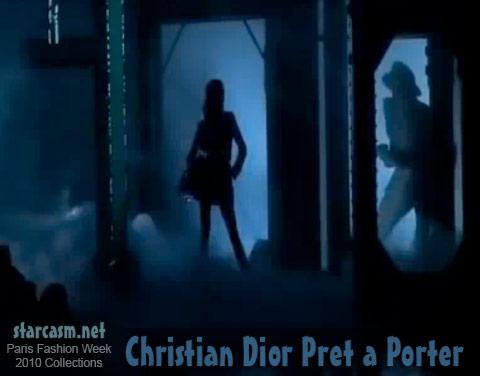 Christian Dior Pret a Porter runway show model at Paris Womenswear Fashion Week 2010