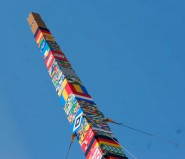 The world's tallest Lego Tower is completed in Munich Germany October 3 2009