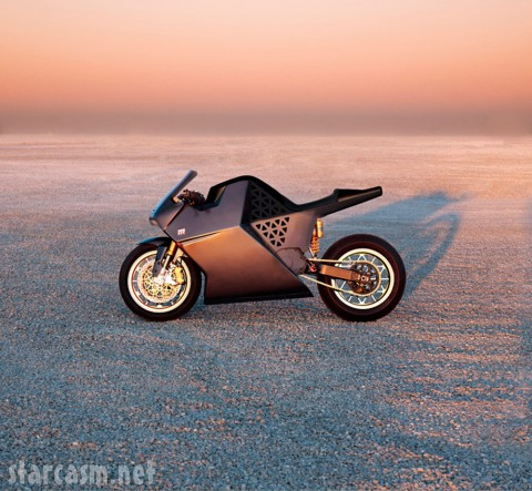 Mission One the world's fastest electric motorcycle from the 2009 Neiman Marcus Christmas Book