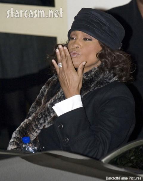 Whitney Houston Wardrobe Malfunction x factor