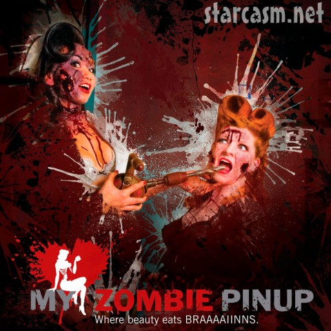 2010 My Zombie Pinup calendar cover