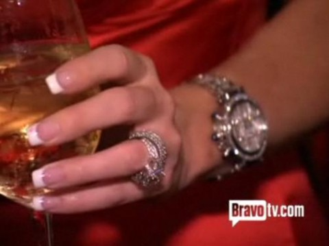 Kim Zolciaku0027s Engagement Ring From Big Poppa