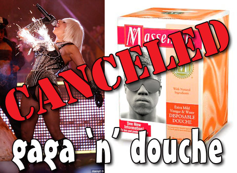 the Lady Gaga and Kanye West Fame Kills Tour has been canceled