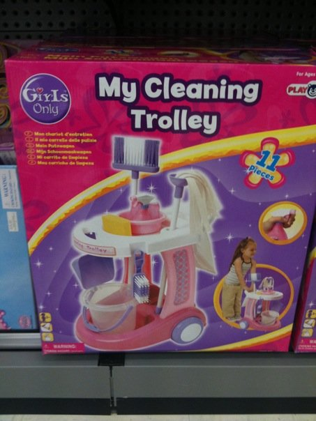 mycleaningtrolleyforgirlsonly
