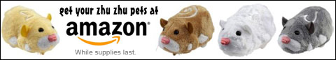 Get your Zhu Zhu Pets Hamsters at amazon.com while supplies last!