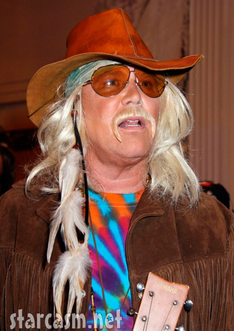 Michael Kors in a hippie chic Halloween costume