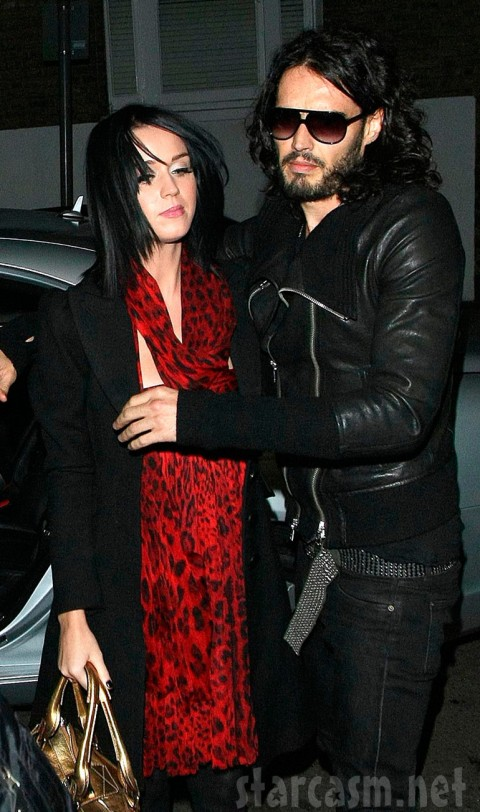 A lifeless Katy Perry and her undead boyfriend Russell Brand