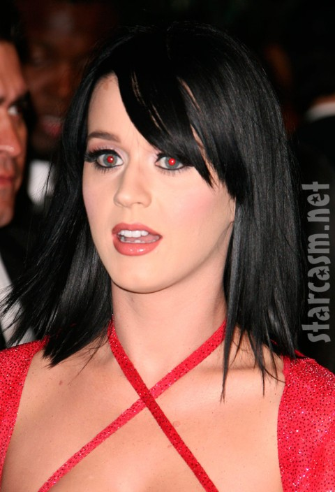 Katy Perry possessed by Russell Brand