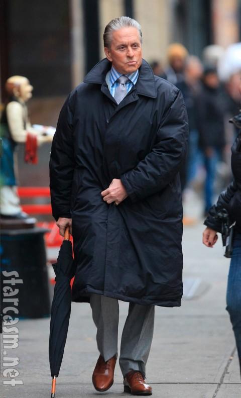 Michael Douglas as Gordon Gekko in Wall Street II