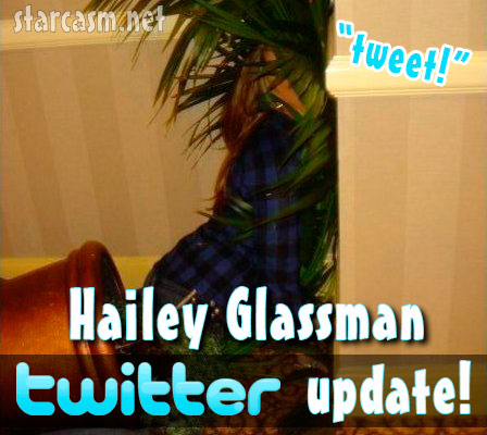 Hailey Glassman Twitter