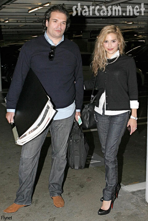 Brittany Murphy's husband has a rumored shady past