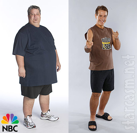 Danny Cahill before and after losing 239 pounds on ABL