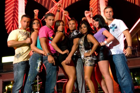 All 8 cast members of The Jersey Shore reality show